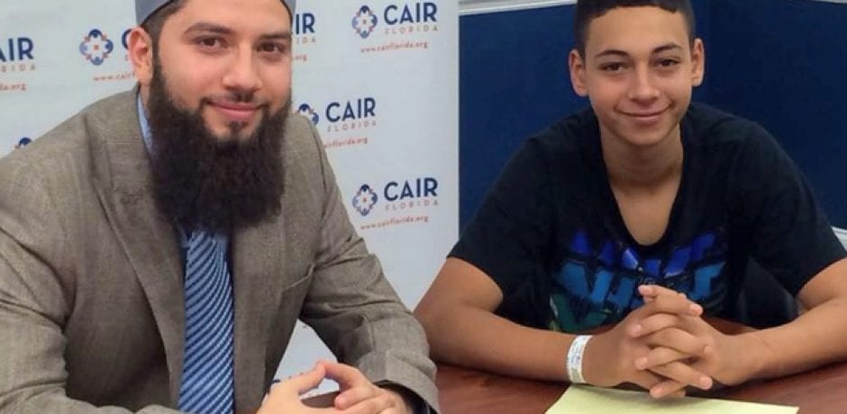 WHY WAS THIS YOUNG MAN SPONSORED BY CAIR INVITED TO THE WHITE HOUSE