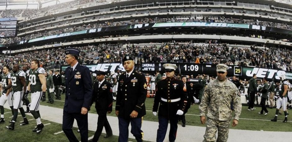 ARMY HERO BLASTS NFL FOR GREED IN HUGE TAXPAYER MONEY GRAB