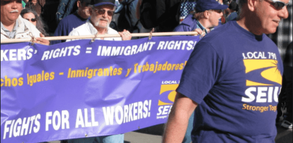 OBAMA AND UNION LEADERS SELL OUT AMERICAN WORKERS By Turning Illegal Alien Into Union Members