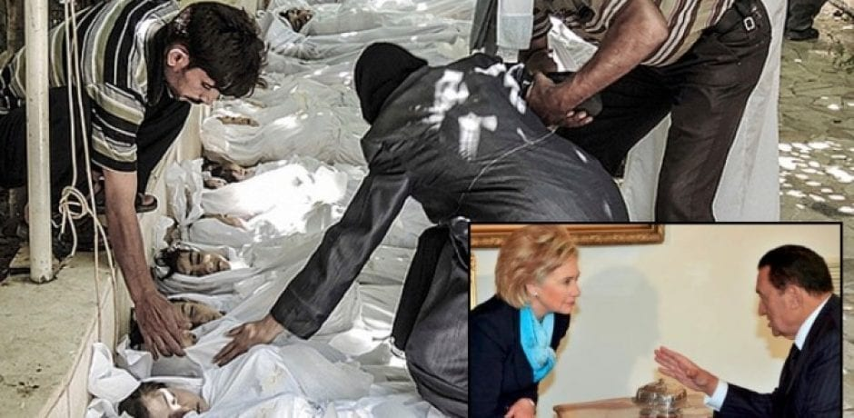 HILLARY'S IMMORAL REIGN AS SEC. STATE: U.S. Sold $60 MILLION In Chemical Arms To Clinton Foundation Donors Used To Gas Citizens