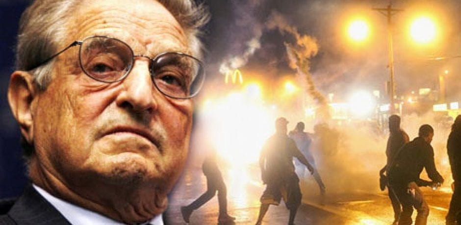 BUSTED: THE ULTIMATE COMMUNIST ORGANIZER…Evidence Shows George Soros Behind Ferguson Race Riots
