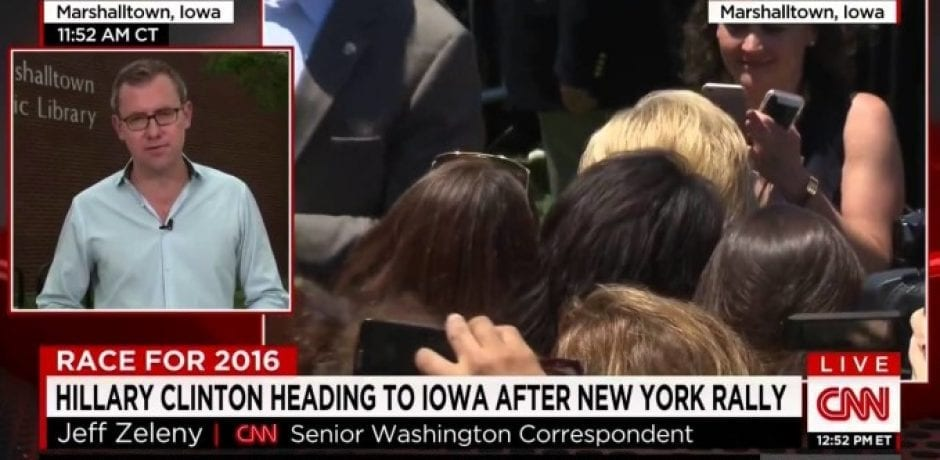 (Video) CNN Anchor Mocks 'pitiful' Hillary Campaign Watch Party