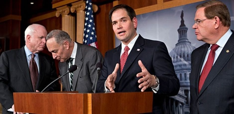 WHOA! CONSERVATIVE MEDIA Was In Cahoots With Rubio To Push Immigration Reform