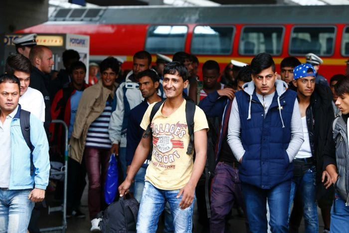 migrant young men