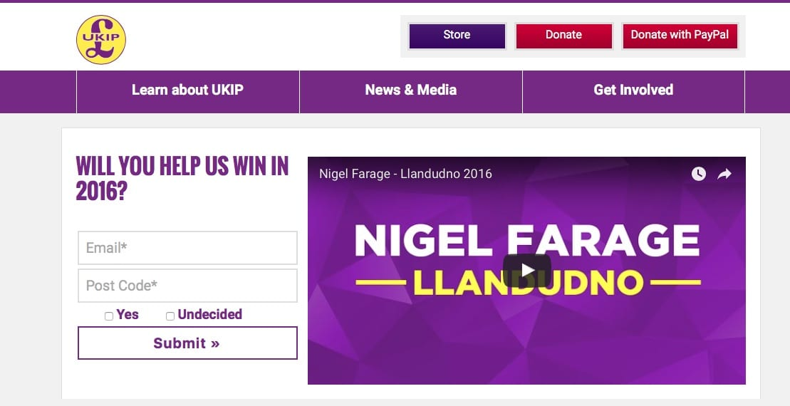website UKIP