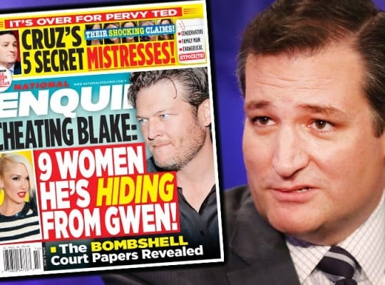 ted cruz National Enquirer