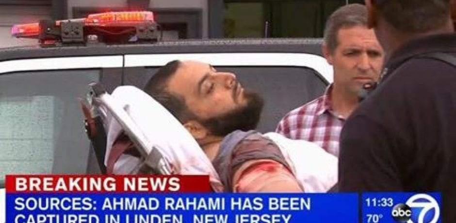 BREAKING: NYC BOMBING SUSPECT ARRESTED After Shooting NJ Cop!