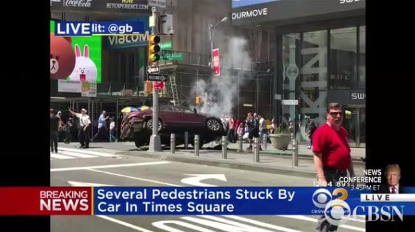 BREAKING: TRAGEDY IN MANHATTAN: Car Plows Into People Killing And Injuring Several [Video]