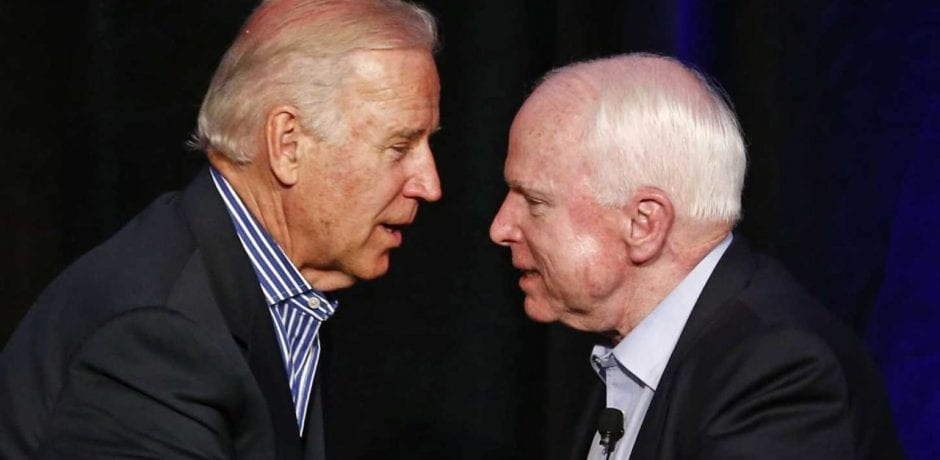 JOE BIDEN Called McCain Urged Him to Vote Against Obamacare Repeal
