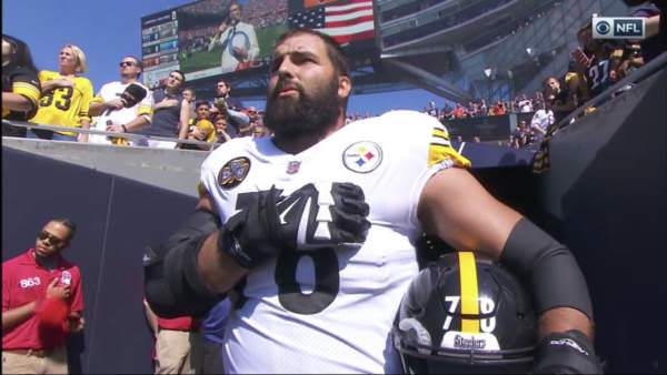 Former Army Ranger is Only Steelers Player Who Shows for National Anthem [Video] * 100PercentFedUp.com