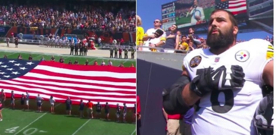 Former Army Ranger is Only Steelers Player Who Shows for National Anthem [Video]