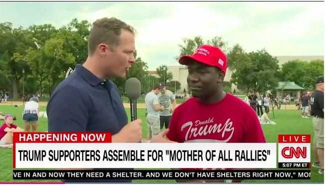 CNN Cuts Off Black Trump Supporter When He Answers 'White Guilt' Question [Video]