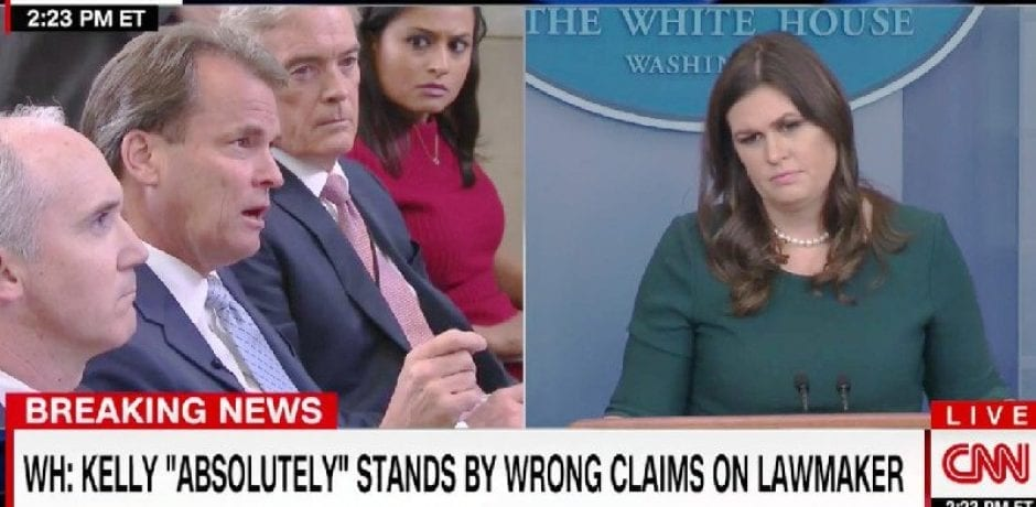 'ALL HAT, NO CATTLE': Sarah Sanders Hits Back At 'Cowgirl' Congresswoman's Claim That Gen. Kelly Was Lying About Her [Video]
