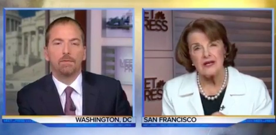 SENATOR FEINSTEIN CALLS AMERICANS 'GUN-HAPPY'…Asked What Gun Law Would Have Prevented Vegas Massacre…Proves She's Clueless [Video]