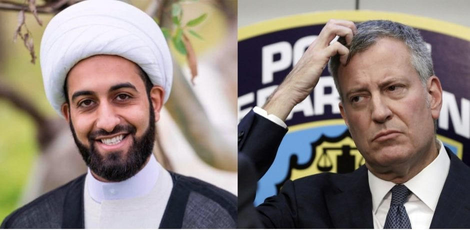 "WOW! POPULAR IMAM WARNED NYC Mayor DeBlasio Of Terror Threats: ""De Blasio spent all his energy and resources in trying to bring down President Trump and not Islamic Extremists"""