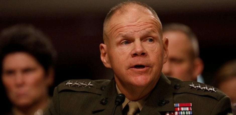 "MARINE CORPS GENERAL WARNS U.S. TROOPS: ""There's A War Coming"""