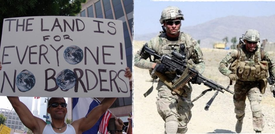 DEMOCRATS Are Putting 800,000 Illegal Immigrants And Their Extended Families Ahead of Active Duty Military Members