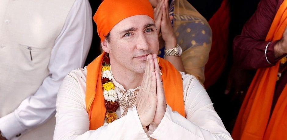 WHAT IN THE WORLD IS Canada's Justin Trudeau Wearing? Social Media Is On Fire After His Most Recent Visit To India