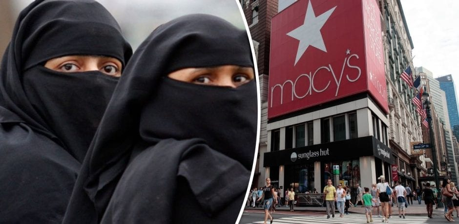 MACY'S TO CAPITALIZE On Exploding Muslim Population With  New Line Of Clothing