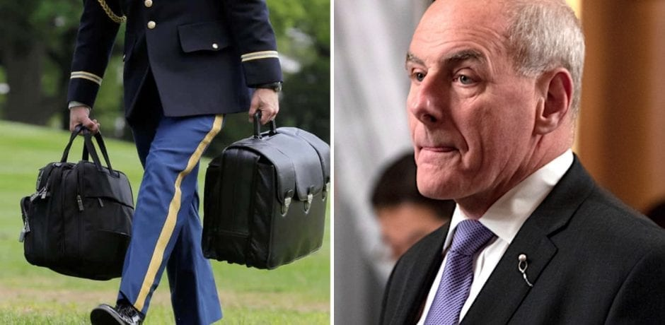 JUST IN: BADASS GENERAL JOHN KELLY Shoved Chinese Security Official's Hand Off US Military Aide Carrying Nuclear Football During Trump Meeting In Beijing