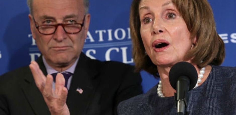 SHOWDOWN: Pelosi and Schumer Send Letter Ordering Intel Agencies to Ignore Trump's Declassification Order