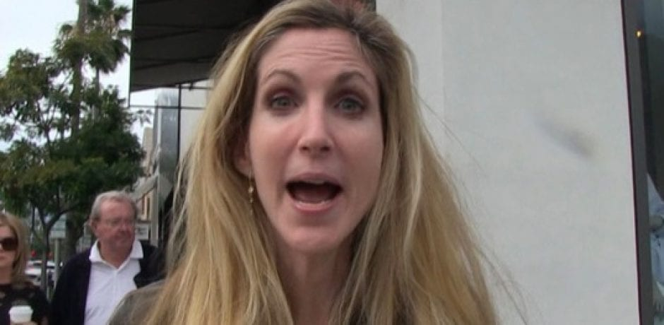 PRICELESS! ANN COULTER Stalked by TMZ…Gives Awesome Reply to McCabe's Firing [Video]