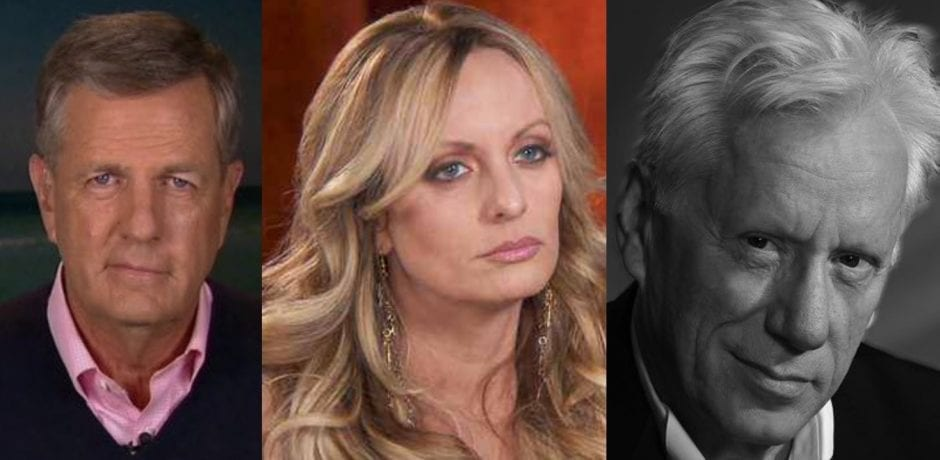 WOW! Fox News' Brit Hume DESTROYS Porn Star Stormy Daniels With One HILARIOUS Tweet…Actor James Woods Chimes In With The Kill Shot