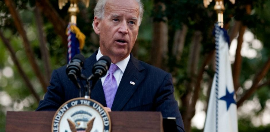"JOE BIDEN SAYS He'd Have 'Beat the Hell out' of Trump for ""Disrespecting Women"""