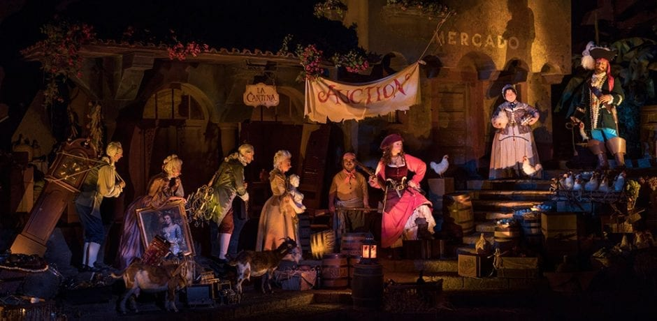 DISNEY'S 'Pirates of the Caribbean' Ride Ditches Controversial 'Bride Auction' for Pillaging 'Wench'