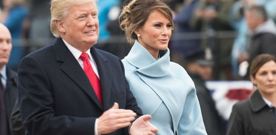 TRUMP POURS on the Class, Showers Melania in Praise for State Dinner Preparations