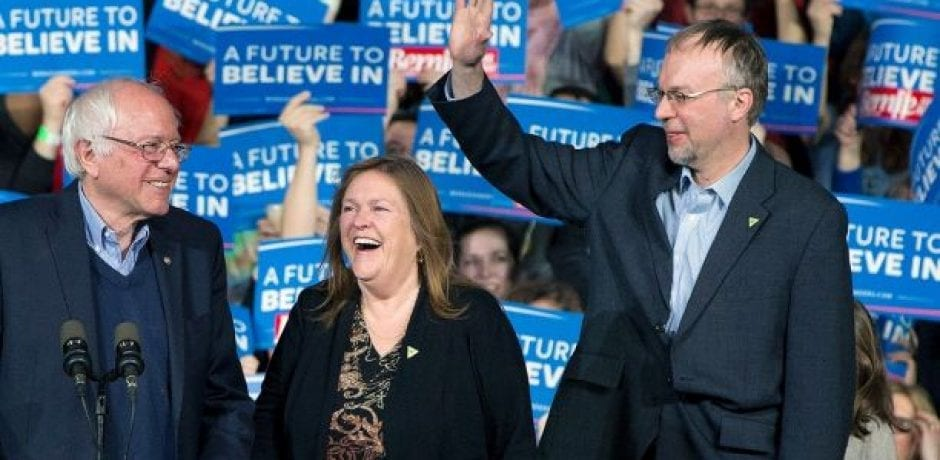 OUCH! BERNIE SANDERS Won't Endorse His Son's Candidacy