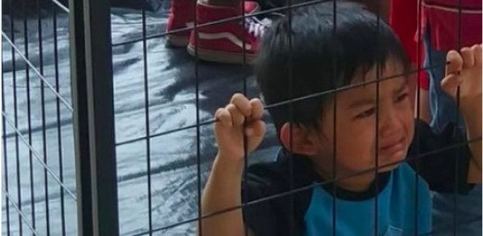 VIRAL PHOTO Is Fake News…Caged Child Is Staged Photo From Open Borders Activist Group