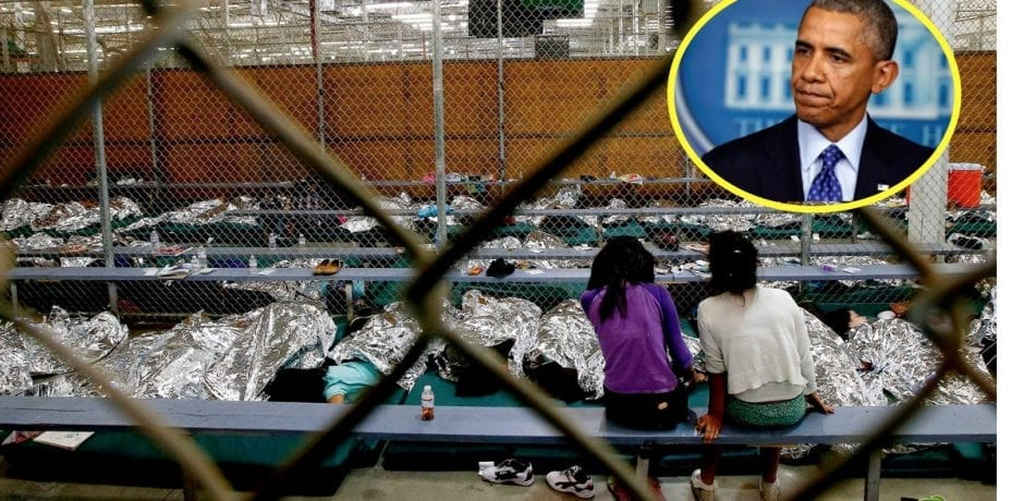 TRUTH BOMB: OBAMA SEPARATED Illegal Families…Kept Them In Cages…Wrapped Them In Foil