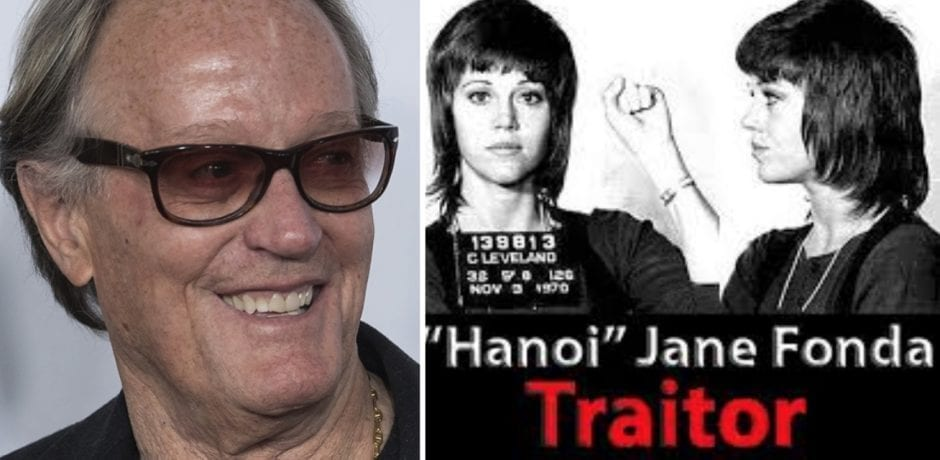 "HANOI JANE'S ""Forgotten Actor"" Brother Peter Fonda, Labeled A 'DOMESTIC TERRORIST' By National Border Patrol Council"