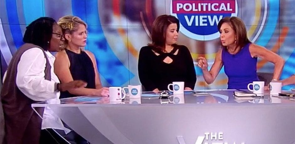 "DID JUDGE JEANINE Just Get Kicked Off Of 'The View': ""Say goodbye!"" [Video]"