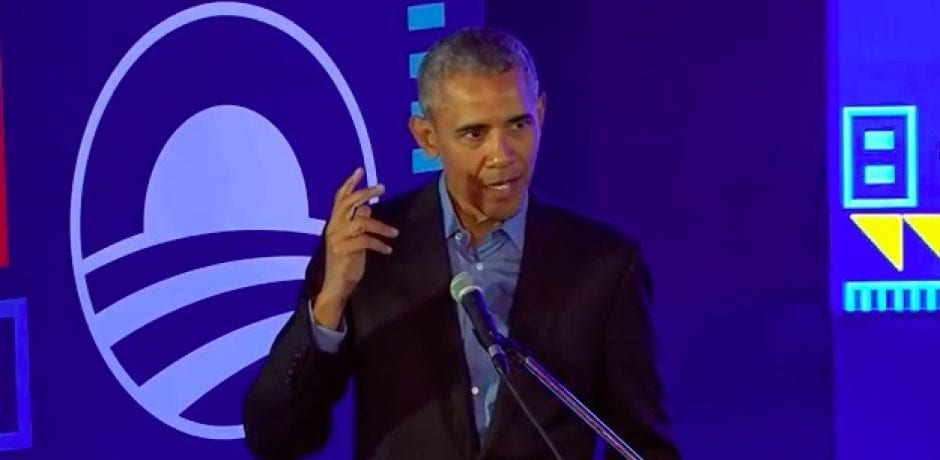 "OBAMA SHAMES THE RICH: ""I mean, it's enough""…Calls for ""Universal Income"""