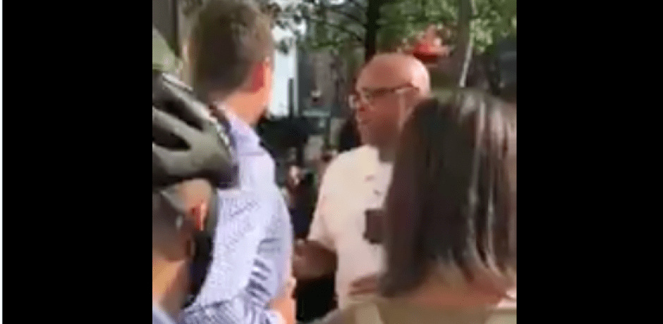 "JUST IN: Antifa Just Attacked #CandaceOwens and #CharlieKirk: ""F**k white supremacy!""…""F**k racist police!"" [Video]"