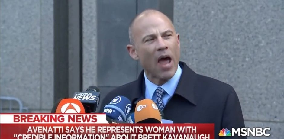 SUPPORTERS ARE STUNNED When They Go To CREEPY DEMOCRAT PORN LAWYER'S Twitter Account After Promising Delivery Of Another Kavanaugh Accuser
