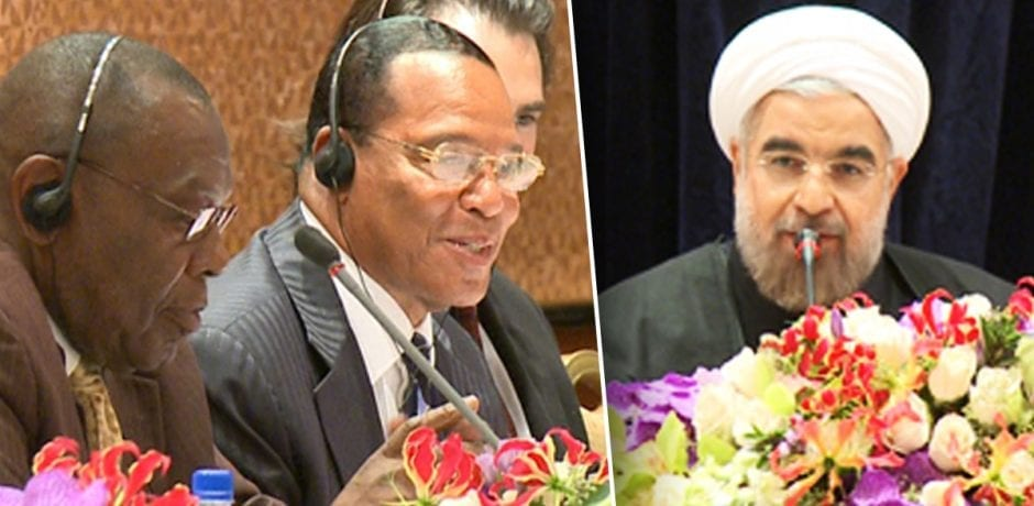 WHY??? Three Dem Congressmen Had Secret Dinner With Louis Farrakhan And President Of IRAN, Top State Sponsor Of TERROR