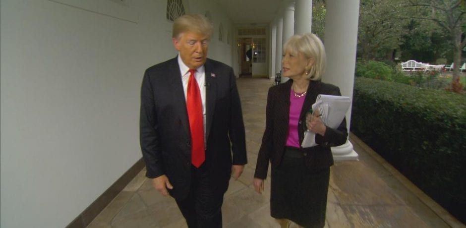 "JUST IN: President Trump Owns Argumentative Leslie Stahl: ""I'm President…and you're not."" [Video]"