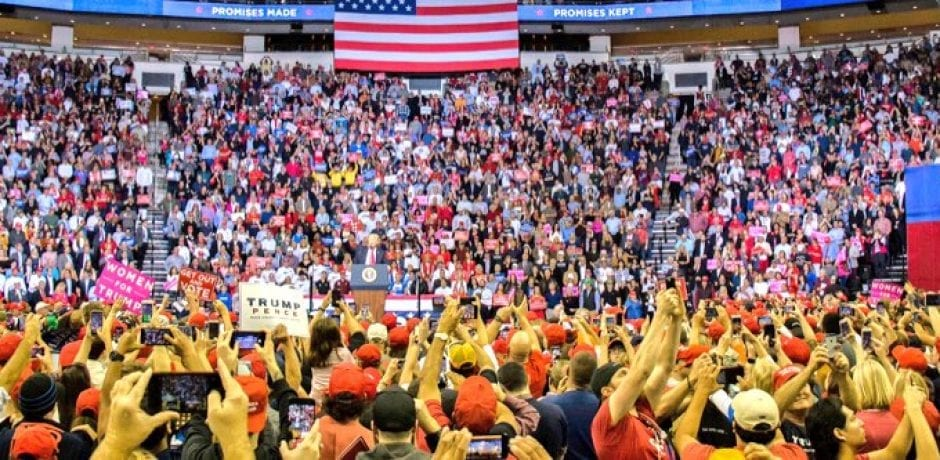 """THIS IS UNBELIEVABLE!"" Houston Trump Rally Packed With Patriots [Video]"
