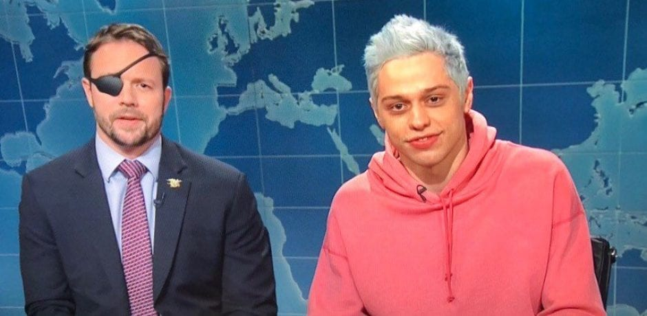 JUST IN: SNL's Pete Davidson Apologizes To Veteran Dan Crenshaw On-Air In Funny And Heartwarming Moment [Video]