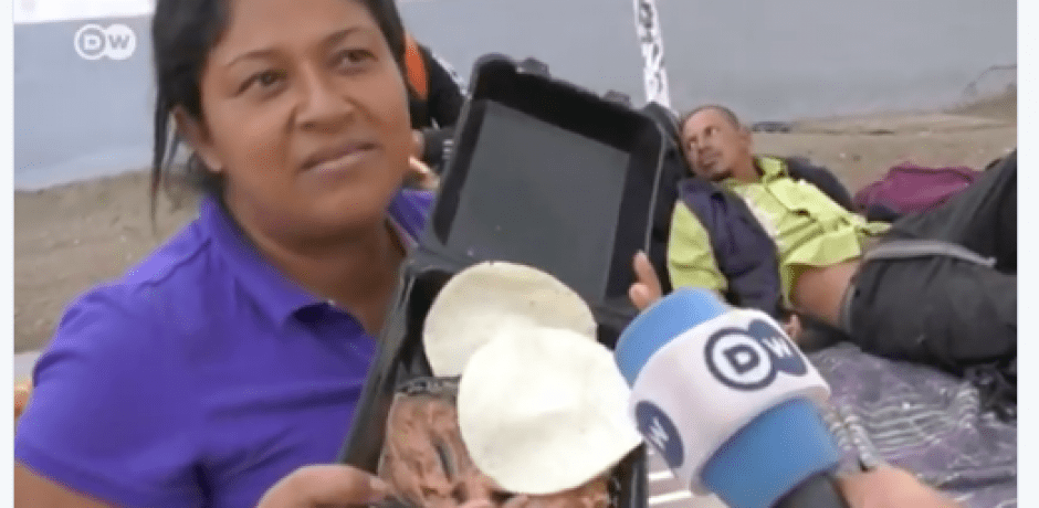 "WATCH: Honduran Caravan Member Complains About Free Food…""Pig Food"" [Video] #BuildTheWall #CloseTheBorder #CatchAndReturn"