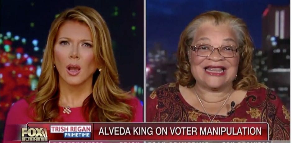 WATCH: MARTIN LUTHER KING JR.'S Niece Tells How Poll Worker REFUSED To Give Her Ballot With Trump's Name On It In 2016