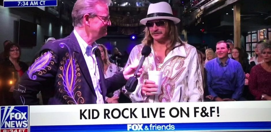 JUST IN: IS KID ROCK Out As Grand Marshall In The Nashville Christmas Parade For His Comment About Joy Behar? [Video]