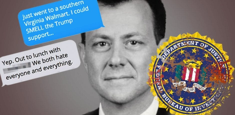 JUST IN: Peter Strzok Admits Mueller Never Investigated His Bias Against Trump After Hate-Filled Texts Were Revealed
