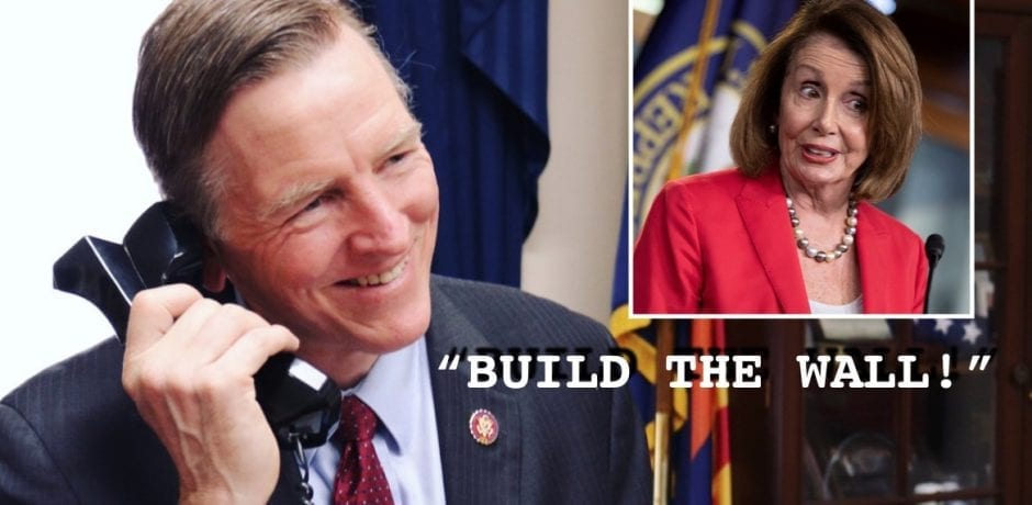 "U.S. CONGRESSMAN: Phones Are ""Ringing Off The Hook""…""OVERWHELMING Majority"" Are Telling Congress #BuildTheWall…NOW!"