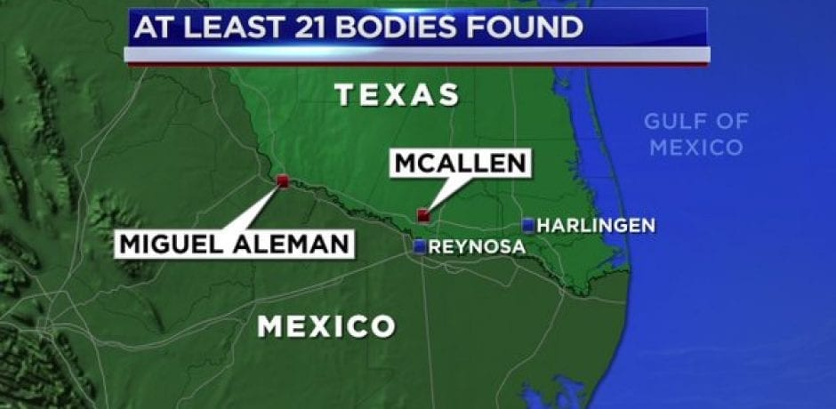 NO CRISIS? 21 Burned Bodies Discovered Along U.S./Mexico Border In Area CNN's Jim Acosta Visited