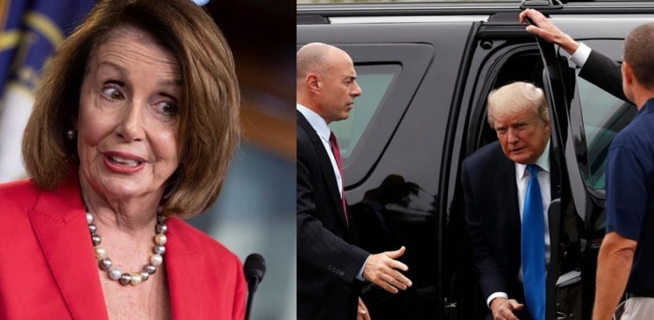 WATCH: Nancy Pelosi CAUGHT LYING About Secret Service After Trying To Convince Trump To Delay SOTU Speech