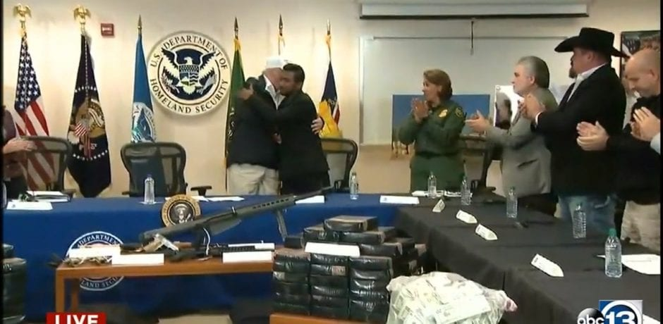 TRUMP WINS! WHILE DEMS SIT BACK In DC Gnashing Their Teeth Over His Refusal To Cave…Trump Meets With Slain Officer Singh's Brother, Border Agents [VIDEO]